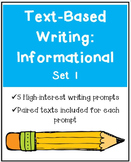 Text-Based Writing: Informational
