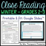 Finding Evidence & Making Inferences Reading Comprehension