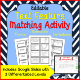 Text Feature Matching Cards Activity