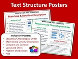Text Structure Posters:  Set of 6 Posters in All