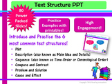 Text Structure in Action PowerPoint:  Super Charged!