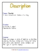 Text Type - Genre Structure/Parts of Speech Posters x 9 - 9 pages