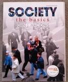 Sociology Textbook: Society - The Basics by John Macionis