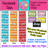 Texture Facebook Tabs ~ Made to Measure! Clip Art Graphics