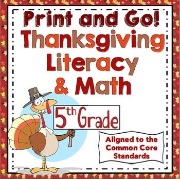 Thanksgiving Activities - 5th Grade