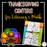 Thanksgiving Activities: Math & Literacy
