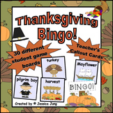 Thanksgiving BINGO Game!