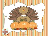 Thanksgiving Book-I am Thankful