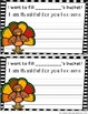 Thanksgiving Bucket Fillers