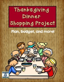 Thanksgiving Dinner Math Project