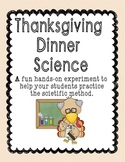 Thanksgiving Dinner Science