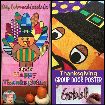 Thanksgiving Door Poster
