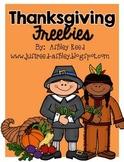 Thanksgiving Freebies!