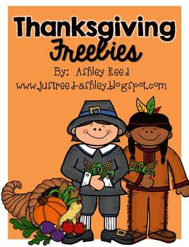 Thanksgiving FREEBIES from Just Reed!
