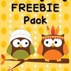 Thanksgiving Freebie Pack