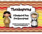 Thanksgiving Fun for Everyone