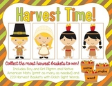 Thanksgiving Harvest Time - A Dolch Sight Words Card Game