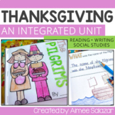 Thanksgiving {Integrating SS and LA} - Common Core Aligned