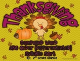 Thanksgiving Literacy Activities: ABC Order,Compound Words