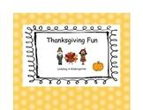 Thanksgiving Math, ELA and Social Studies Fun
