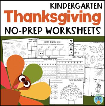 Thanksgiving - Kindergarten