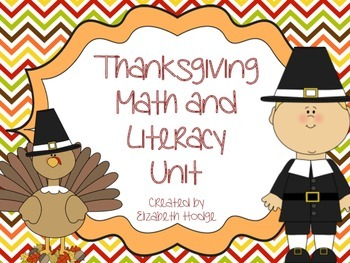 Thanksgiving Math and Literacy Unit
