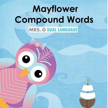 Compound Words Thanksgiving / Mayflower Center Activity