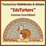 Thanksgiving Third Grade Math EduTurkeys / Common Core-Ali