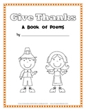Thanksgiving Poetry Book