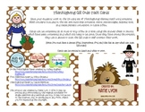 Thanksgiving QR Code Task Cards: Math Word Problems