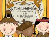 Thanksgiving Roll, Say,and Write with CVCe words - Writing