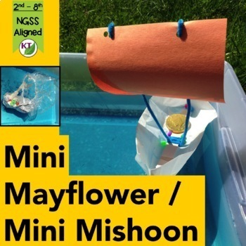 Thanksgiving STEM Design Challenge: Mini Mayflower