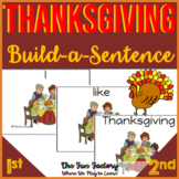 Thanksgiving Sight Word Scrambled Sentences