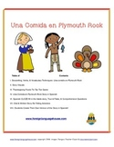 Thanksgiving Spanish Story & Activities for Novices