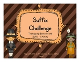 Thanksgiving Themed Suffix Sort