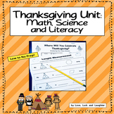 Thanksgiving Unit: Math, Science, and Literacy for Kindergarten