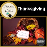 Thanksgiving Unit: Thematic Common Core Curricular Essentials