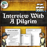 Thanksgiving Writing - Pilgrims