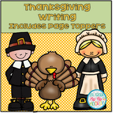 Thanksgiving Writing with Page Toppers...a simple Thanksgi