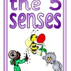 The 5 Senses-6 Colorful Posters