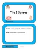 The 5 Senses File Folder Game
