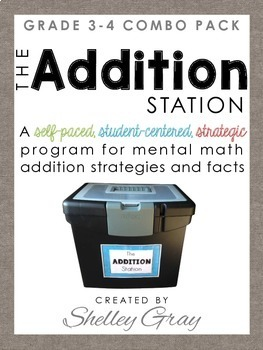 The Addition Station {Grade 3-4 Combo Pack}