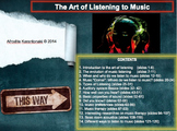 Music Listening: The Art of Listening to Music