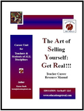 """CAREER UNIT: """"The Art of Selling Yourself - Printed Manual"""