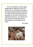 The Babe Ruth Theory Poster
