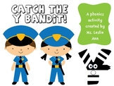 The Bandit Y- Long y as /e/ and /i/ Word Sort Literacy Center