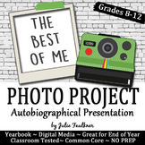 Yearbook Project The Best of Me: An Autobiographical Photo