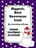 The Biggest Best Snowman Unit
