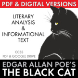 The Black Cat, two-day lesson, Edgar Allan Poe's story w/