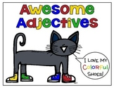 The Blue Cat Awesome Adjectives Pack